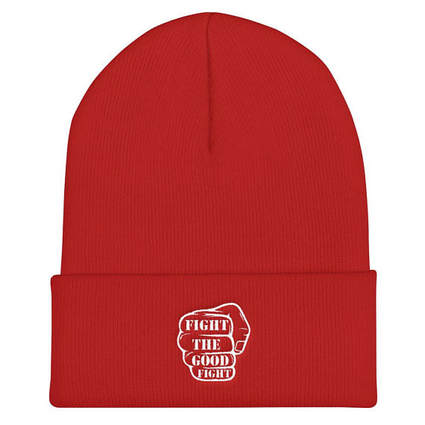 Fight The Good Fight Beanie